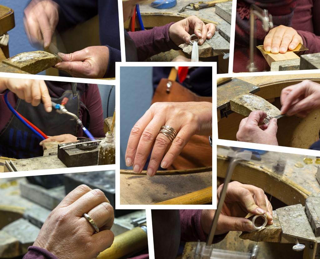 Einen eigenen Ring anfertigen - so geht es zu dabei in der Goldschmiede-Werkstatt