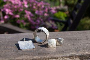 Schmuckserie FRIDA, Silberschmuck von ringlein