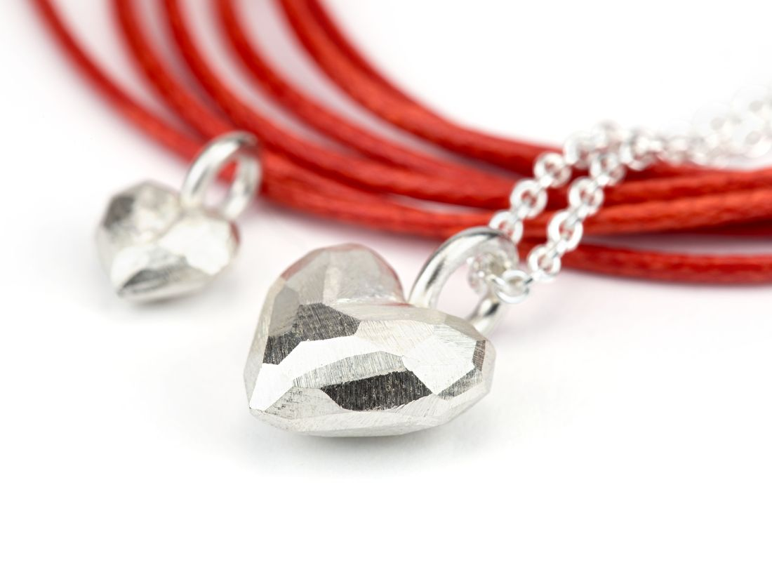Herzanhänger Silber